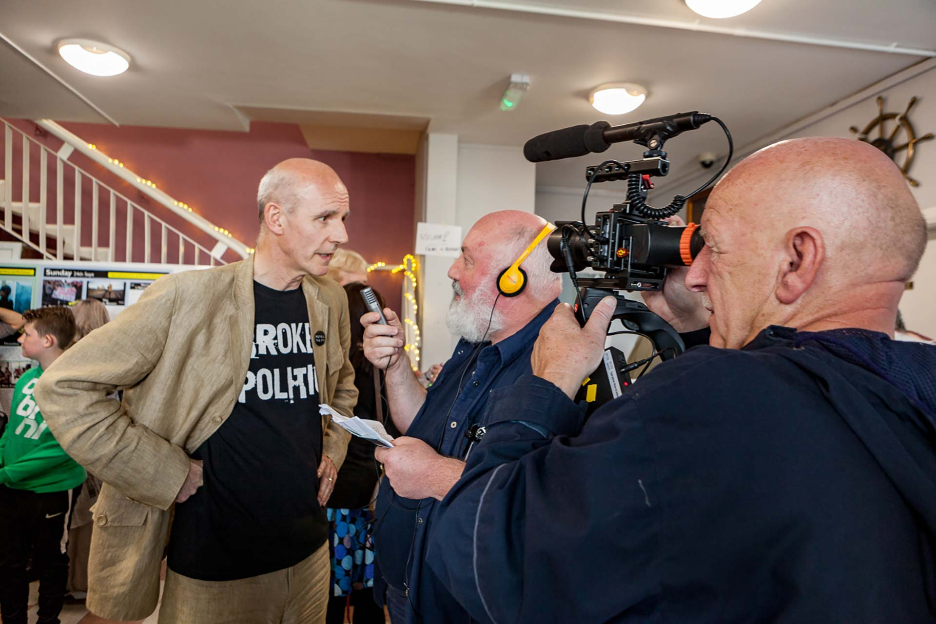 Film interview WDFF Augustine O Donoghue