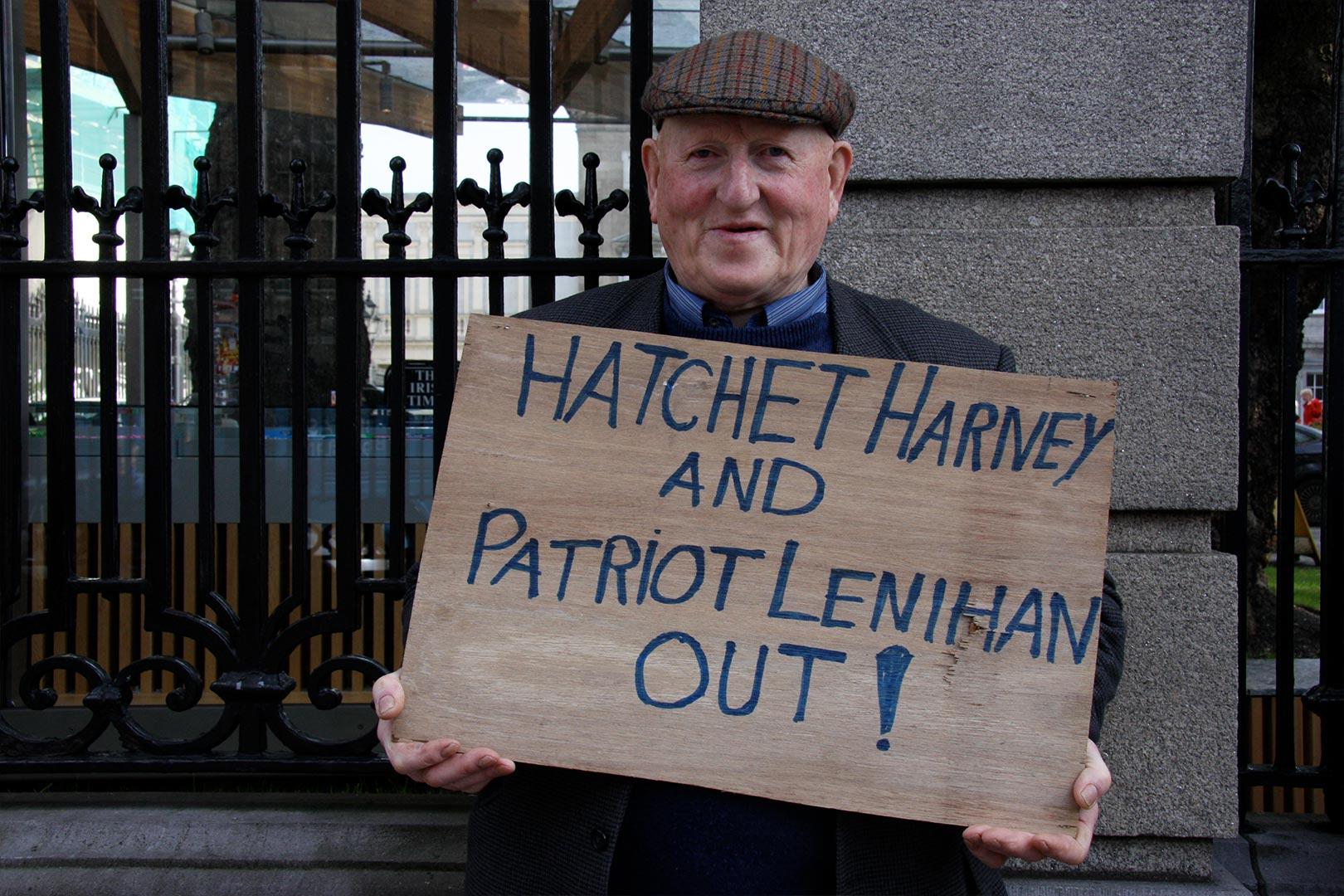 Hatchet Harney and patriot Lenihan Augustine O Donoghue