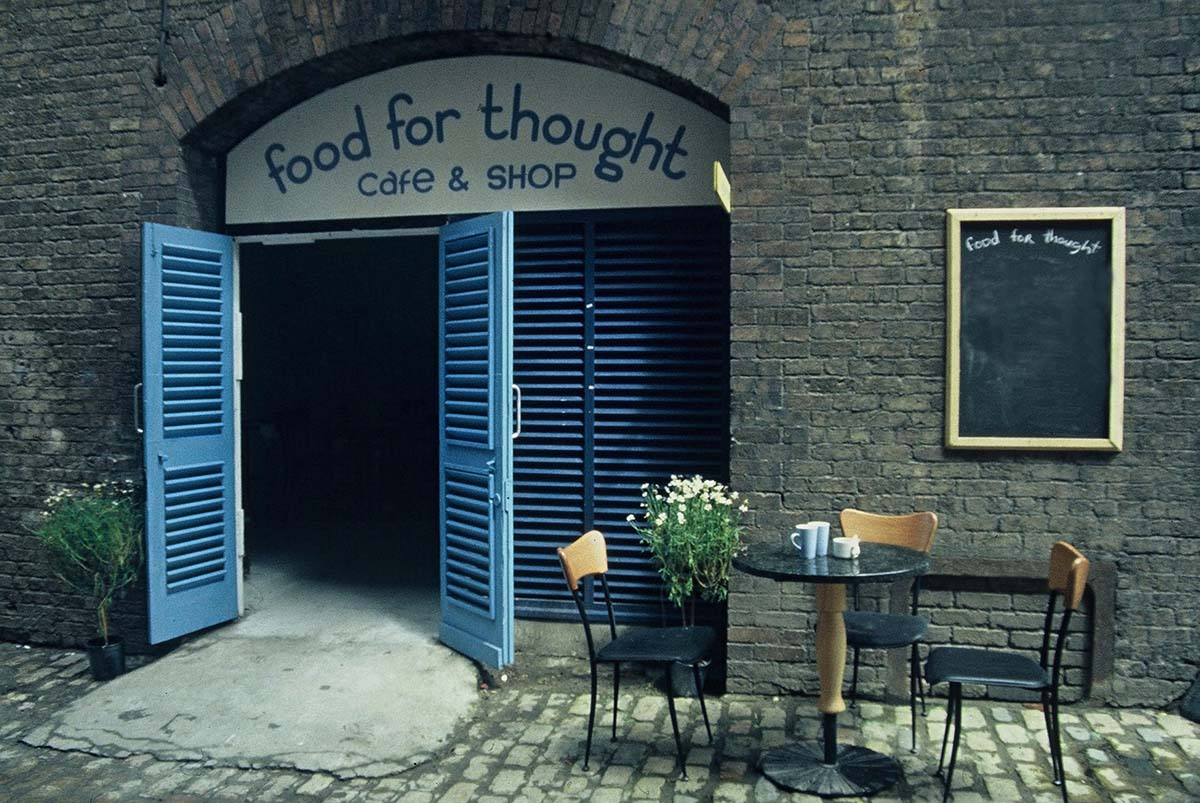 Food for thought interactive cafe Augustine o Donoghue